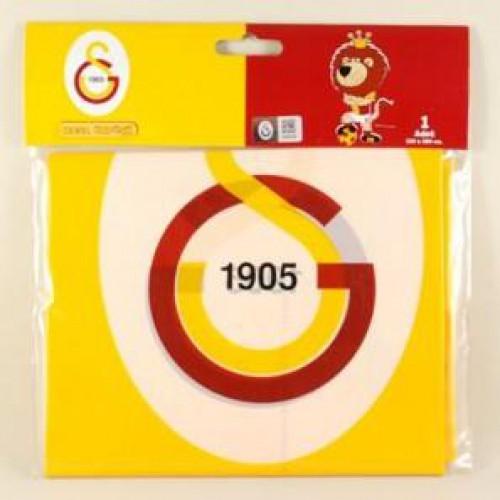 Galatasaray Masa Örtüsü 120x180 Doğum Günü Parti Örtü Ucuz Sarı Kırmızı