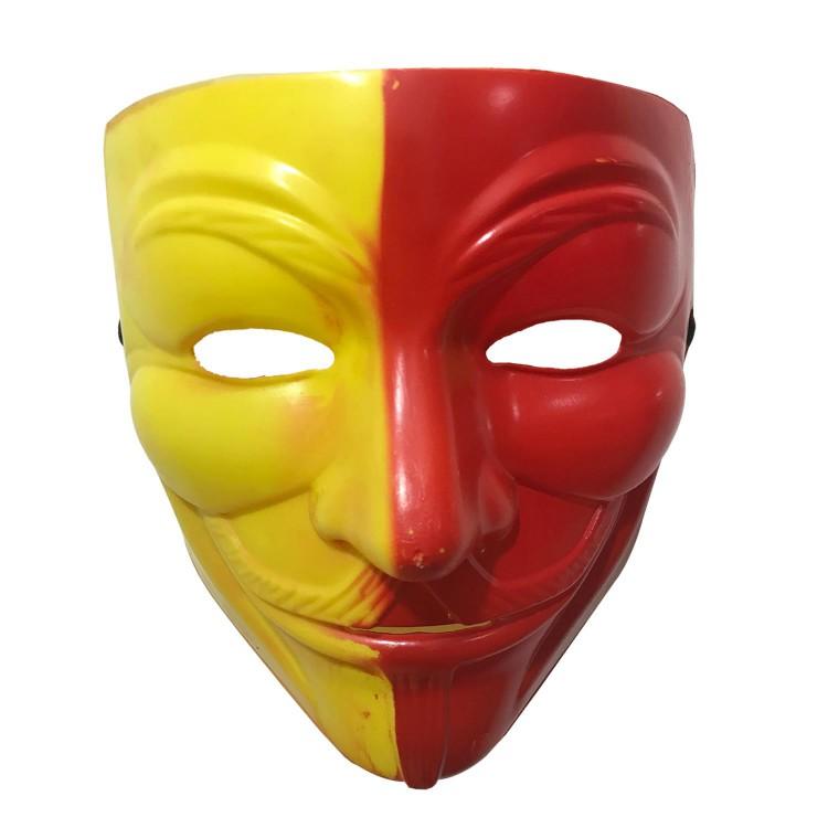 Galatasaray Sari Kirmizi V For Vendetta Maskesi Gs Taraftar Maske