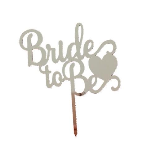 Gümüş Silver Bride To Be Ayna Pleksi, Bekarlığa Veda Partisi