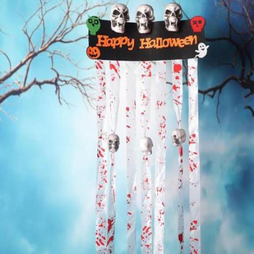 Happy Hallooween Asmalı Kapı Süsü, Cadılar Bayramı Duvar Süsleri