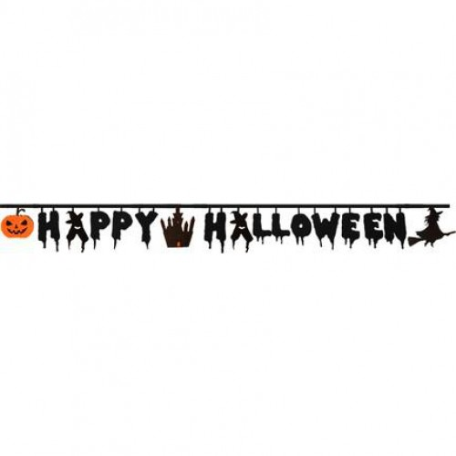 Happy Halloween Duvar Yazısı, Cadılar Bayramı Dekor Aksesuarları