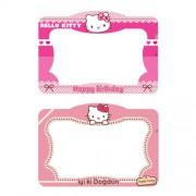 1 Adet Hello Kitty Doğum Günü Parti Fotoğraf Çerçevesi Ölçüleri 100x70