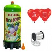 Helyum Gazı Tüp+20 Adet Evlilik Teklifi Kalp Uçan Balon+İpi