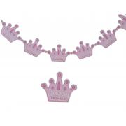 Hoşgeldin Prenses Pembe Kız Bebek Hastane Doğum Odası Flama Süsü