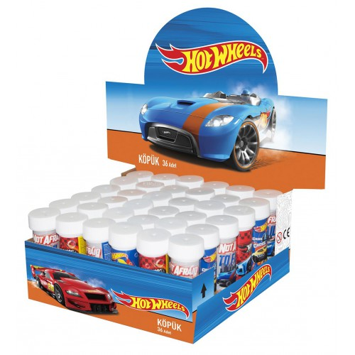 Hot Wheels Köpük Hediyelik, Arabalar Baloncuk
