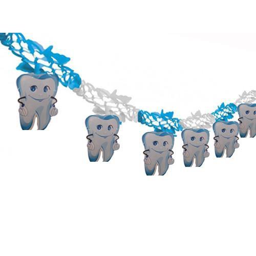 İlk Dişim Mavi Yatay Süs Diş Erkek Dirgit Parti Diş Detaylı