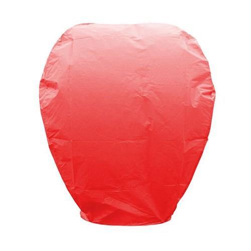 1 Adet Uçan Kırmızı Dilek Feneri Özel Gün Dilek Balonu  Kandili