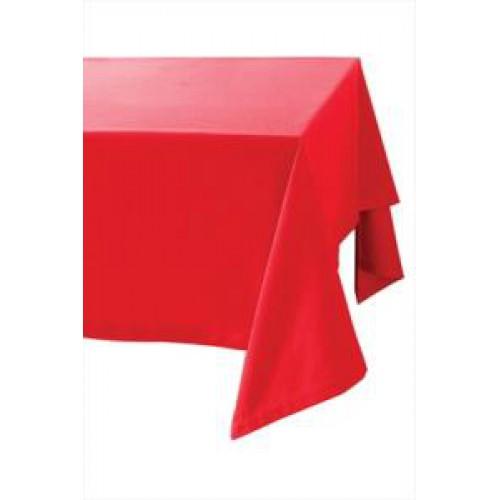 Kırmızı Düz Masa Örtüsü 1.37 cm x 2.70 cm Doğum Günü Parti Ucuz.