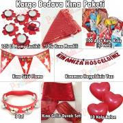Kırmızı Kına Gecesi Malzemeleri Seti Kına Paketi Standart