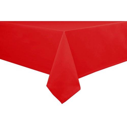 Kırmızı Plastik Kullan At Masa Örtüsü, Naylon 120x180 cm