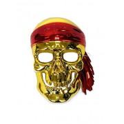 Korsan Kurukafa Sert Plastik Maske, Parti Maskesi