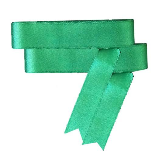 Koyu Yeşil Saten Kurdele 10mt, 30mm (3cm) Kalınlığında