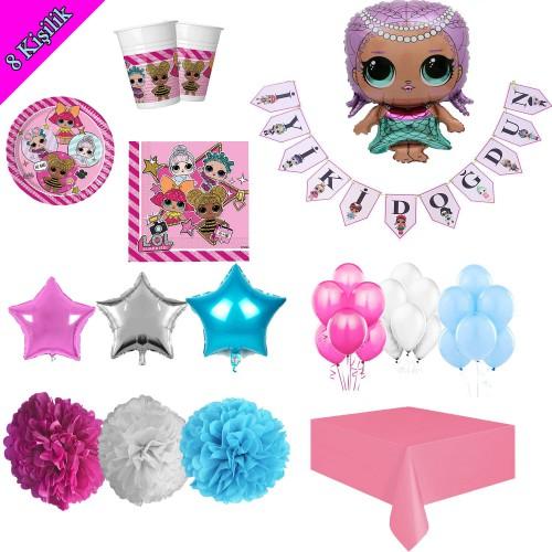 Lol Suprise Bebekleri Merbaby Seri Doğum Günü Parti Süsü Konsepti