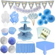 Mavi Erkek Bebek Mevlüt Malzemeleri Seti Paketi
