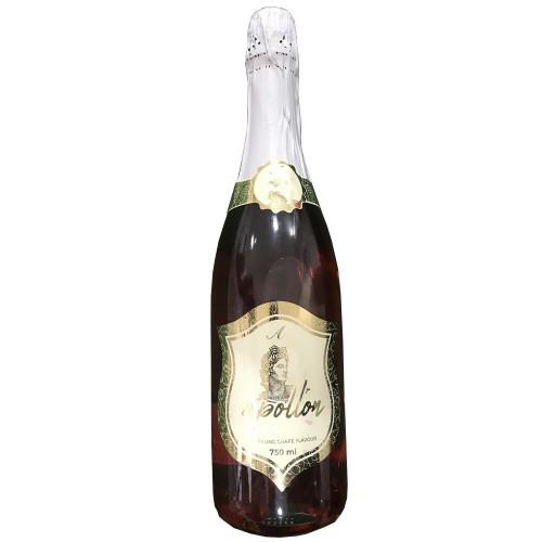 Meyveli Alkolsuz Şov Amaçlı Şampanya 750ml Elma Aromalı