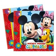 Mickey Mouse 20li Peçete 33cm x 33cm Doğum Günü Parti Peçetesi
