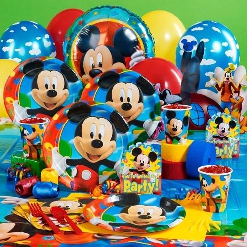 Mickey Mouse 8 Kişilik 8 Parça Parti Malzemeleri Seti