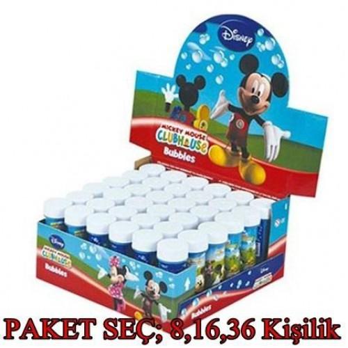Mickey Mouse Köpük, baloncuk, oyuncak, hediye,parti, miki, micky