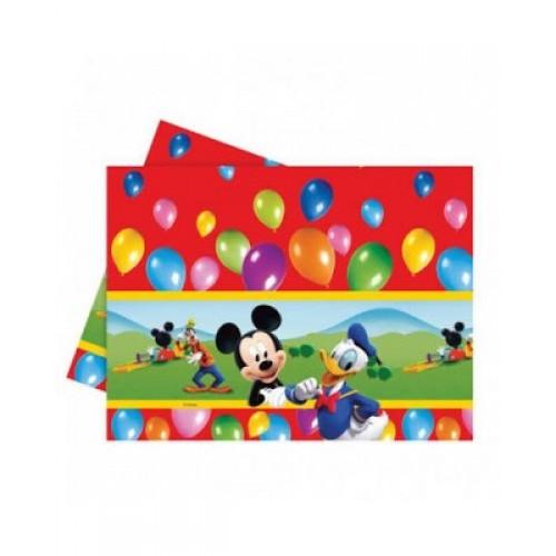 Mickey Mouse Masa Örtüsü 120cm x 180cm Doğum Günü Parti Örtü Ucuz