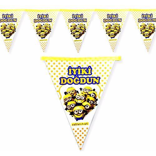 Minyon,Minion,Minions Rush Flama 2.2 Doğum Günü Parti Çılgın Hırsız