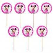 Minnie Mouse 20li Sunum Kürdanı Doğum Günü Ucuz