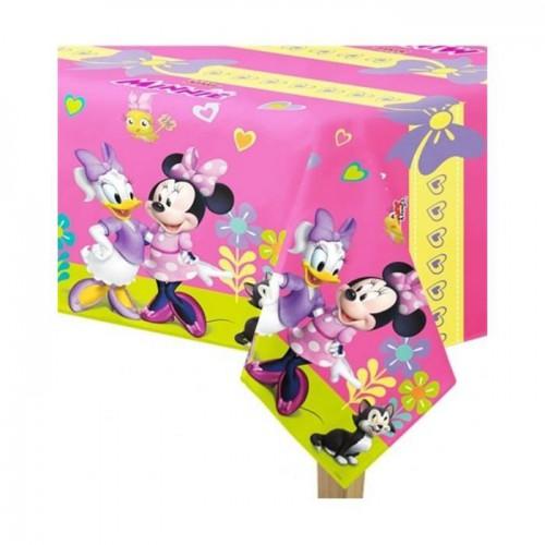 Minnie Mouse Masa Örtüsü 120cm x 180cm Doğum Günü Masa Örtüsü