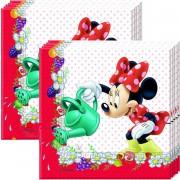 Minnie Mouse Peçete 20li Doğum Günü Parti Peçetesi 33cmx33cm