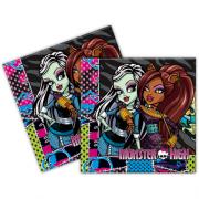 Monster High 16lı Peçete Doğum Günü Parti Peçetesi 33x33 Ucuz