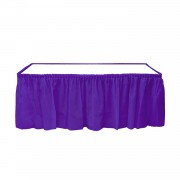 Mor Table Skirt Masa Eteği Masa Yanlarında Fırfır 74 cm x 426 cm