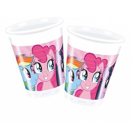 My Little Pony,Poni  Bardak 200ml Doğum Günü Parti Ucuz Konsept