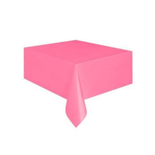 Pembe Masa Örtüsü Düz 1.37 cm x 2.74cm Doğum Günü