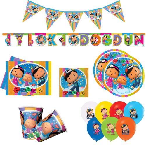 Pepee 16 Kişilik Pepe 9 Parça Doğum Günü Parti Seti