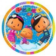 8 Adet Pepee Tabak 23cm Pepe Doğum Günü Parti Tabağı