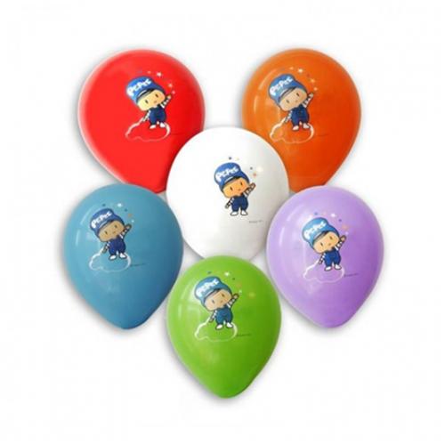Pepee Baskılı 12li Karışık Renkli Balon Doğum Günü Balonları
