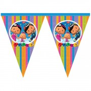 Pepee Flama 3mt 11 Bayrak Pepe Doğum Günü Parti Ucuz