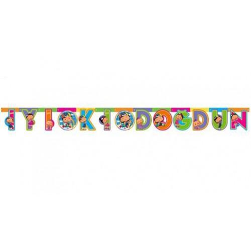 Pepee İyi Ki Doğdun Yazı 2mt Pepe Doğum Günü Parti Ucuz Konsept