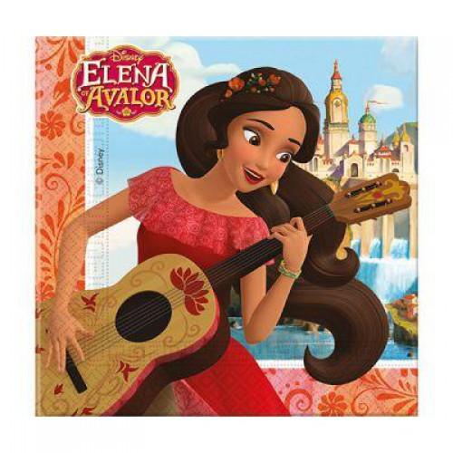 Prenses Elena 20li Peçete Doğum Günü Parti Malzemeleri Kullan At