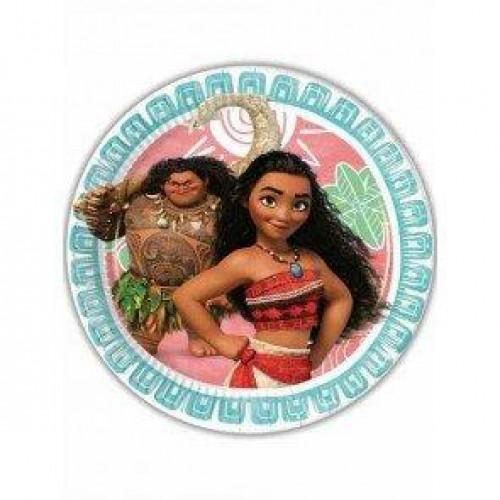 Prenses Moana 8li Tabak Doğum Günü Parti Kullan At