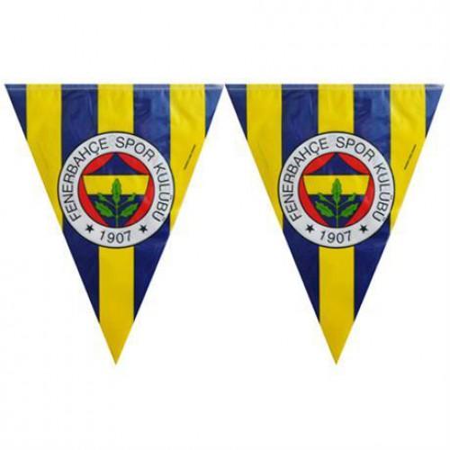 11 Bayraklı Fenerbahçe Flama 3.20mt Doğum Günü parti Malzemesi