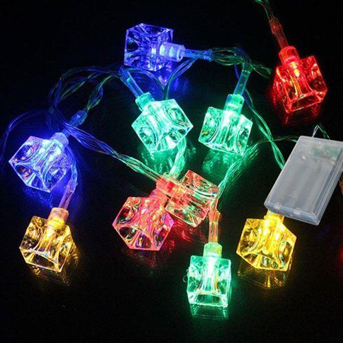 4 metre Pilli Yılbaşı Çam Ağacı Süsleme Işığı Renkli Led Işık