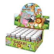 Safari Temalı Köpük Hediyelik Aslan, Zebra, Fil, Zürafa Baloncuk