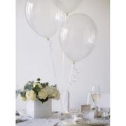 Şeffaf Balon Lateks Plastik Balon (Helyumla Uçan)