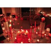 Sevgiliye Lüks İlginç Anlamlı Oda, Doğum Günü Masa Süsleme Paketi
