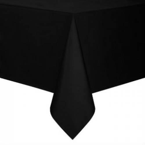 Siyah 120x180cm Kullan At Masa Örtüsü,Doğum Günü Parti Malzemesi