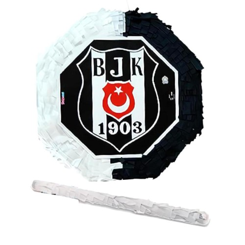 Siyah Beyaz Beşiktaşlı Pinyata, Doğum Günü Partisi, Sopası Bedava