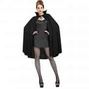 Siyah Pelerin Kapşonlu Halloween Partisi Cadılar Bayramı Kostümü