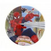 8 Adet Spiderman (Örümcek Adam) Doğum Günü Parti Masası Tabağı