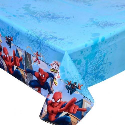 Spiderman (Örümcek Adam) Plastik Doğum Günü Parti Masası Örtüsü