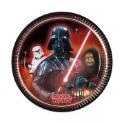 Star Wars 8li Tabak 23cm Doğum Günü Parti Tabağı