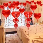 Sürpriz Yıldönümü, Sevgililer Günü, Doğum Günü Süsleme Paketi